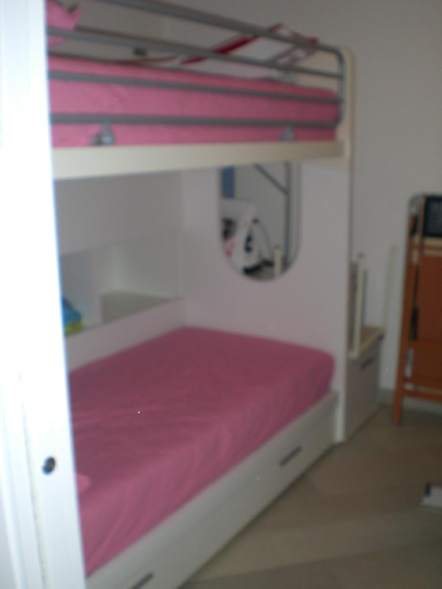 Appartamento duplex a valli di chioggia for Letto a 2 piani