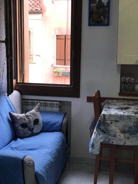 vendesi appartamento arredato, luminoso e ristrutturato in palazzina ristrutturata  €. 80.000,00 Tr.